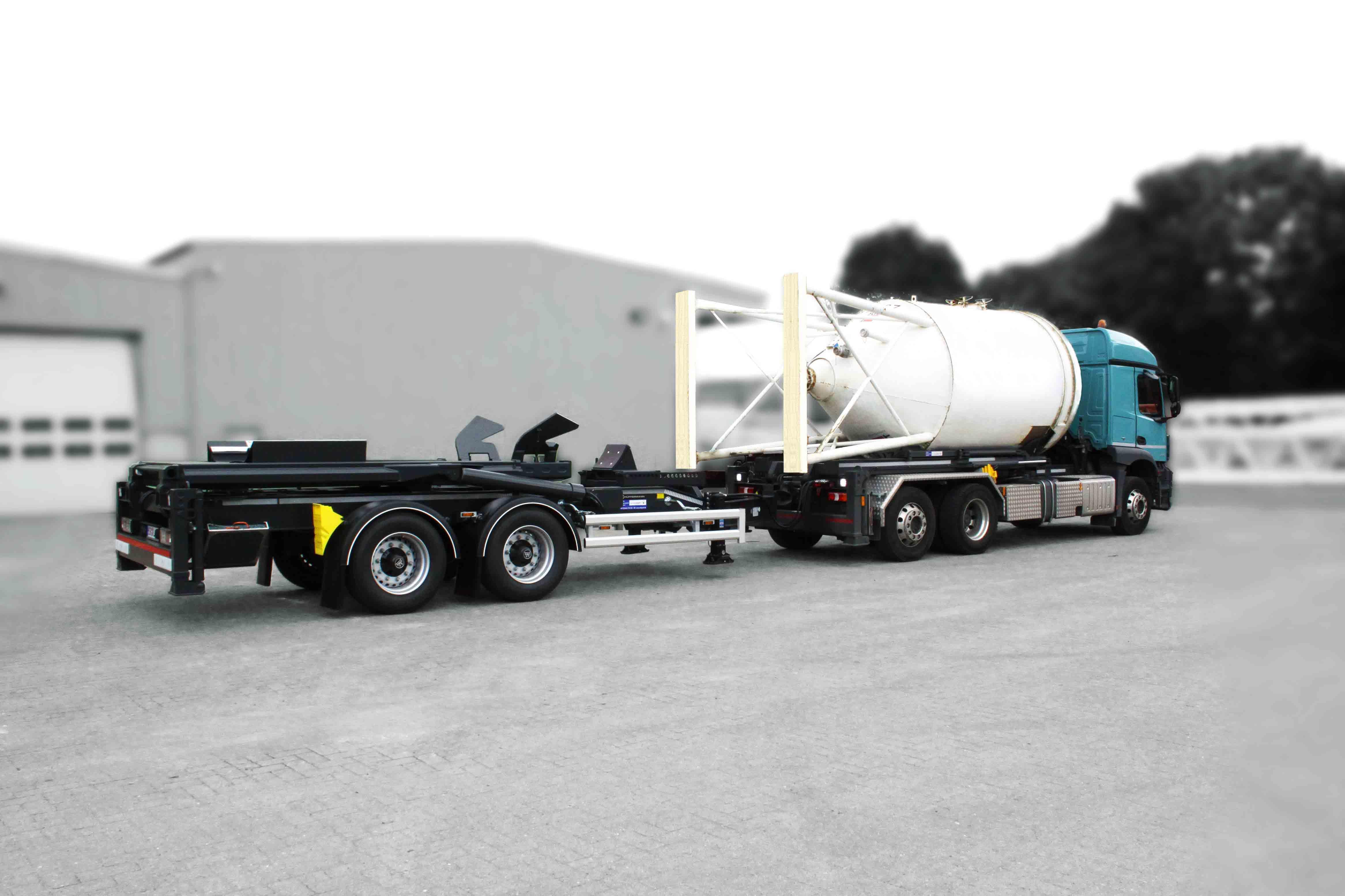 velsycon-Sattelauflieger-Sattel-Silolift - Silo-Wechselsysteme vom Hersteller