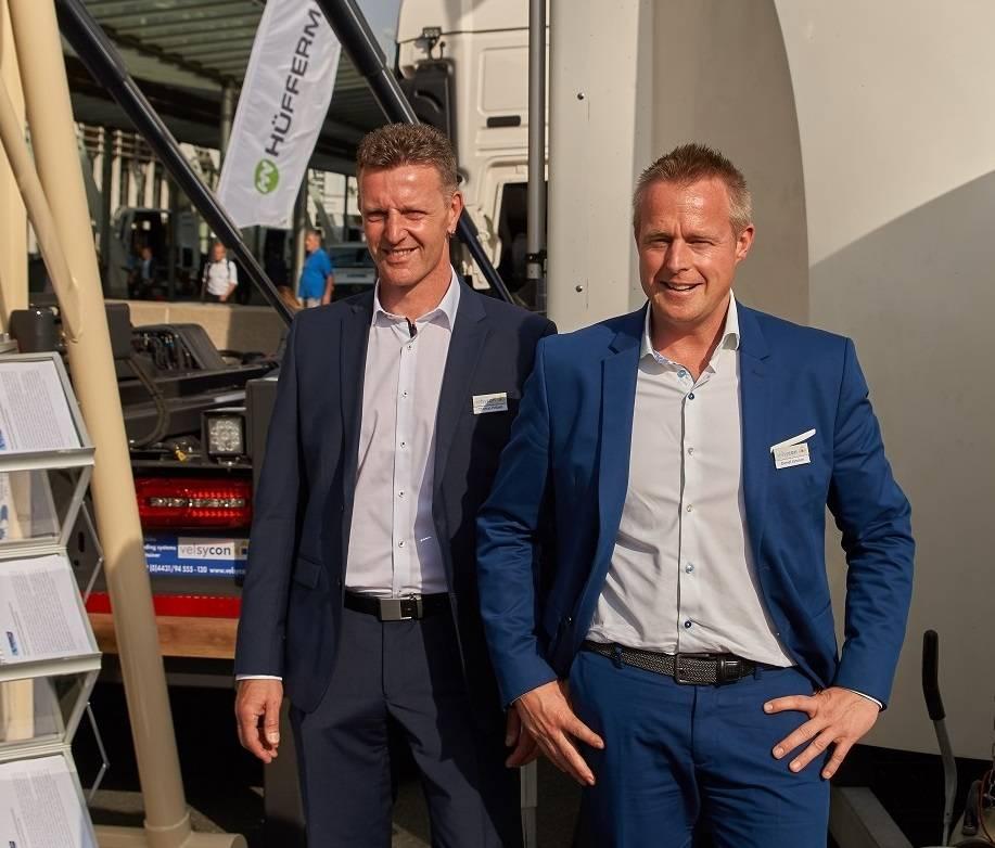 IAA2018 erfolgreich für Velsycon, Helpap, Janssen, Combilift