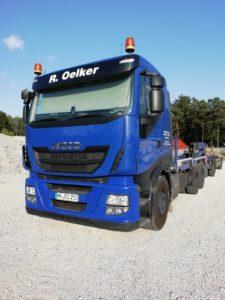Verkauf Gebrauchtfahrzeuge - Silotransport - Zugmaschine Iveco über velsycon