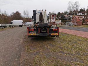Combilift-Gebrauchtfahrzeug auf Volvo Fahrgestellt von velsycon