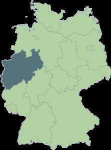 Landkarte nordrhein westfalen velsycon