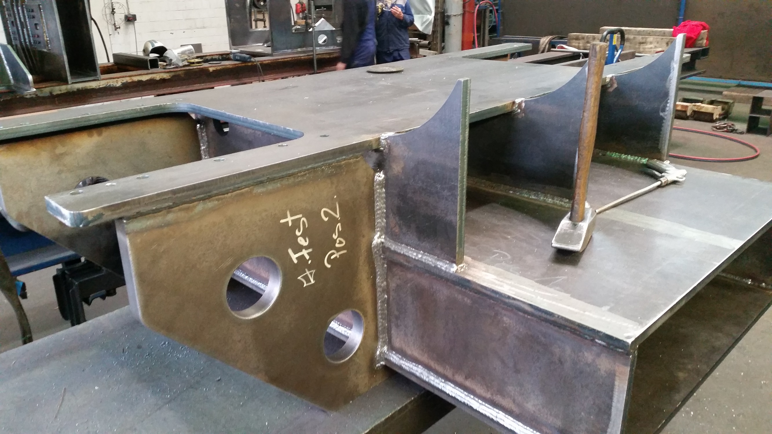 Steelwork for bespoke chassis - custom-made steelwork products -