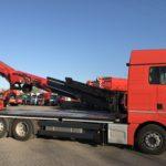 Ladekranmontage - Fahrzeugbau velsycon - Pritschenaufbau