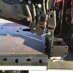 Sonderfahrzeugbau velsycon - Adapter - Ladekranmontage