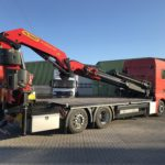 Montage Ladekran - velsycon Fahrzeugbau - Wechselgeräte