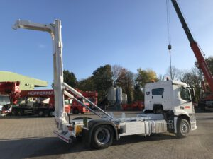 MSTS-Lift - Senkrechtsteller - Container Transport velsycon