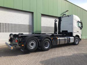 Behältertransport - Wechselsysteme - Fahrzeugbau velsycon - Abrollkipper