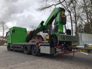 velsycon Fahrzeugbau - Kran-Hängerzug - Ladekranaufbauten